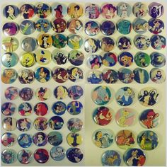 I'm addicted to making badges ! Especially as the Disney !! #loladevil #handmade #badges #pins #disney #waltdisney by lola.de.vil