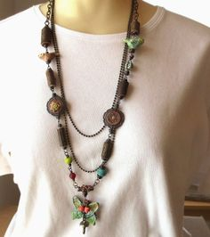 Art Bead Scene Blog: Tutorial Tuesday: Waiting for Spring Necklace