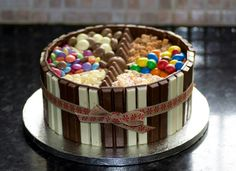 Sweeties cake!! Idea for Scott's b day