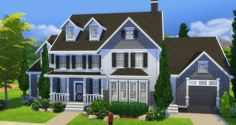 MoneyBags Traditional Mansion by NelcaRed at Mod The Sims via Sims 4 Updates