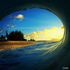 Wave by Clark Little