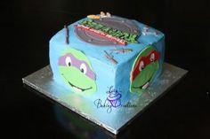 Teenage Mutant Ninja Turtle Cake