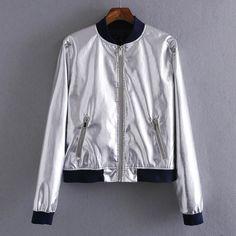Embroidered Flower Collar Short Jacket