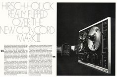 1970 ad for the Concord Mark III reel to reel tape recorder in Reel2ReelTexas.com's vintage recording collection