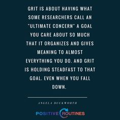 Grit Quotes angela duckworth quote about goals grit positive routines Grit Quotes. Here is Grit Quotes for you. Grit Quotes growing kids with grit. Resilience Quotes, Emotional Resilience, Life Is Hard Quotes, Work Quotes, Inspirational Quotes About Success, Meaningful Quotes, Motivational Quotes, Positive Psychology, Positive Quotes