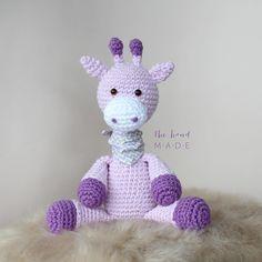 """832 curtidas, 48 comentários - The Hand Made - By Dani (@thm.bydani) no Instagram: """"Good Morning lavender giraffe 💜 • Bom dia Girafinha lilás 💜"""""""