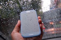 비 오는 날, 갤럭시S3와 함께