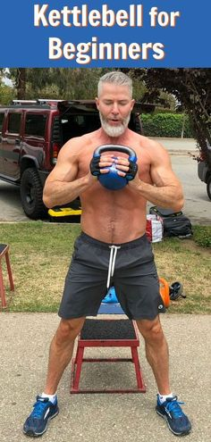 The genius of the kettlebell is that you only need one to give yourself a great workout – and you can even do your kettlebell workout outside in the fresh air. Here are 12 exercise Ideas for a defined, sculpted body – perfect for beginners or athletes over the age of 50. #kettlebell #overfiftyandfit #workout #outside #exercise #ideas #defined #sculpted #body #over50 #athletes #beginners #health #fitness