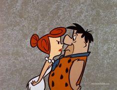 Fred and Wilma Flintstone Good Cartoons, Retro Cartoons, Vintage Cartoon, Classic Cartoons, Animated Cartoons, Os Flinstones, The Flintstones, Fred And Wilma Flintstone, Comic Art