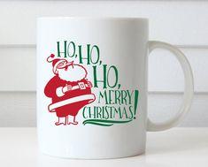 Ho Ho Ho buon Natale Natale caffè tazza boccale di Natale