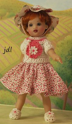 Daisy May for NEW TINY 6.5 Riley Kish by JDL by JDLDOLLCLOTHES