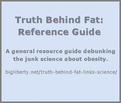 Big Liberty Blog has prepared this list of links that debunk the common stereotypes and misinformation about obesity.  Please share so that others may become informed and help stem the onslaught of fat bigotry.  (The page image could not be pinned - direct link to page is:  http://bigliberty.net/truth-behind-fat-links-science/) << bump