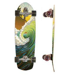 34 Greenroom Complete. Carver Skateboards.