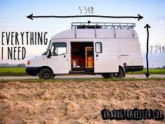 My DIY camper – from rusty van to cosy home in 5 months - Vandog Traveller