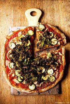 How to make a perfect #vegan pizza - Antigone XXI