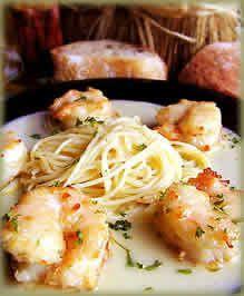 Shrimp Paesano, My Way