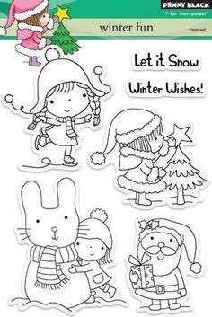 Penny Black winter fun