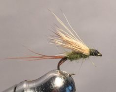 Blue wing olive dry flies are a staple in every fly box most of the year.