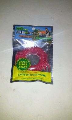Super Band Insect Repelling Bracelet Deet Free #SuperBand