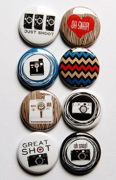Oh Snap Flair by aflairforbuttons on Etsy, $6.00  #flair #flairbuttons