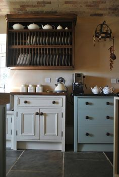 Browse photos of Freestanding Kitchen Cabinets Ideas. Find ideas and inspiration to add to your own home. See more ideas about Standing kitchen and Kitchen pantry cupboard. Kitchen Pantry Design, Diy Kitchen Storage, Pantry Storage, Kitchen Organization, Country Kitchen, New Kitchen, Kitchen Decor, Kitchen Ideas, Free Standing Kitchen Cabinets