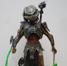 PREDATOR Custom PHANTOM X AVP NECA Movie Maniacs Mcfarlane Marvel Legend Spawn