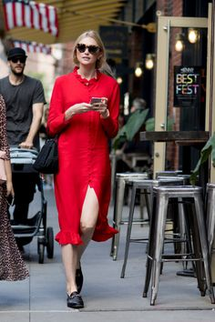 Attendees at New York Fashion Week Spring 2018 - Street Fashion