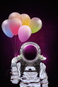 ASTRONAUT by Juan David Gómez, via Behance