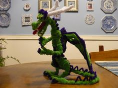 pipe cleaner dragon 005 | Flickr - Photo Sharing!
