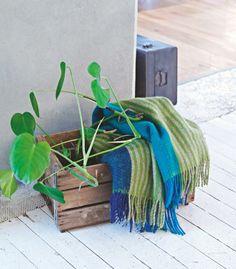 Bloesem Living   Røros Tweed blankets