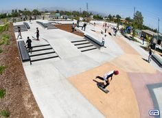 Sheldon Skate Plaza - Los Angeles, California