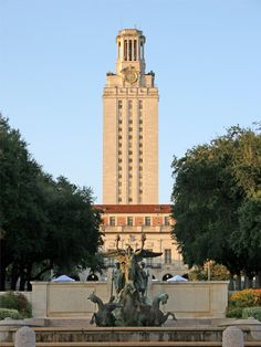 take a tour of The University of Texas - make a reservation to go to the observation deck at the top!