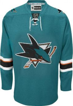 San Jose Sharks Official Home Reebok EDGE Authentic NHL Hockey Jersey (Made  In Canada)  sanjosesharks  san  jose  sharks  outfit 0d816bd24