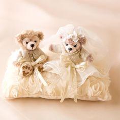 インスタで見つけたDIY♡プレ花嫁さん手作りの可愛すぎるリングピローまとめ* | marry[マリー] Ring Pillows, Wedding Ring Box, Ring Bearer, Diy And Crafts, Plush, Wedding Inspiration, Teddy Bear, Kawaii, Bridal