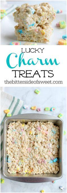 Charm Treats | The Bitter Side of Sweet #snacks #dessert #stpatricksday