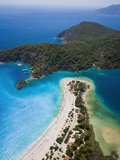 Belcekiz Beach, Ölüdeniz near Fethiye, Turkey