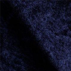 $3.82/yd Velour Fabric, Blue Fabric, Velvet Sofa, Different Fabrics, Dark Navy, Dance Costumes, Stretch Fabric, Lounge Wear, Stretches