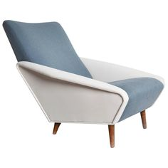 Model No. 807 Distex Lounge Chair by Gio Ponti | From a unique collection of antique and modern lounge chairs at https://www.1stdibs.com/furniture/seating/lounge-chairs/