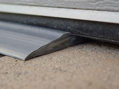 Tsunami Seal - how to stop water from coming in under garage door