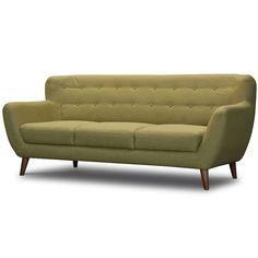 retro design bank geel | Zen Lifestyle