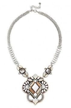 Stand out with a vintage pendant necklace featuring a hand set stone atop genuine leather. Compliment any outfit with this unique necklace from Stella & Dot.