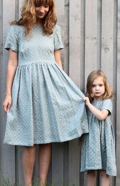 Handmade 'Mommy & Me' Linen Dresses | Etsy