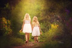 """""""Forever friends""""  Child Photography    Sisters  © Emily Williams Photography"""