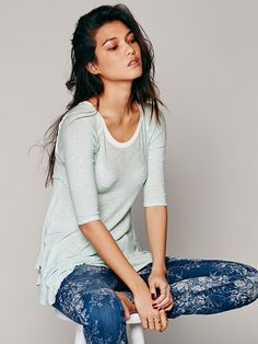 Free People Weekends Layering Top, $40.00