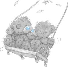 Beautiful Pictures And Photos Of Tatty Teddy Bears Teddy Images, Teddy Pictures, Bear Pictures, Cute Images, Cute Pictures, Beautiful Pictures, Tatty Teddy, Blue Nose Friends, Bear Illustration