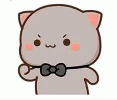 Cute Gif, Animated Gif, Conversation, Hello Kitty, Gifs, Animation, Fictional Characters, Art, Naruto Characters