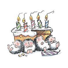 Happy Birthday. Celebrate with Family & Friends!