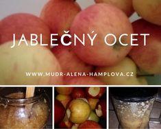 Několikrát do roka vyrábím svůj vlastní jablečný ocet. Používám ho k detoxikaci, posílení organismu ak dezinfekci. Jablečný ocet můžete také použít k výrobě bylinného octa– naložíme do něj bylinky, které macerujeme 8 dní- za studena, nebo za tepla- po vložení bylin ocet 30 minut zahříváme na vodní lázni (nesmí ale vařit).   Pokud někdo … Můj oblíbený ranní detoxikační nápoj- jablečný ocet. Pokračovat ve čtení » Fruit, Vegetables, Syrup, The Fruit, Veggies, Veggie Food, Vegetable Recipes