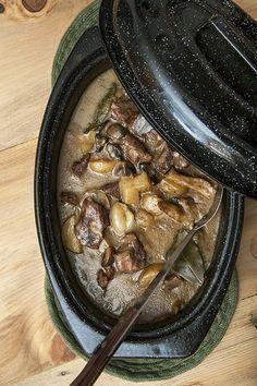 Recette Ragoût de boeuf aux champignons