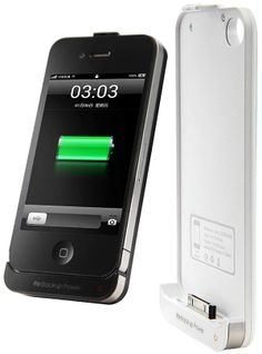 2200mAh External Backup Battery Charger Case for iPhone 4/4S